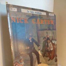 Cómics: NUEVOS EPISODIOS DE NICK CARTER 17. LA CASA ENCANTADA. ED SOPENA, AÑOS 20-30. Lote 288611593