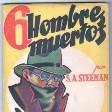 Cómics: LA NOVELA AVENTURA SERIE DETECTIVESCA Nº 6- HYMSA 1938 - S.A.STEMAN - GRAN PREMIO 1931 PARÍS. Lote 66790026