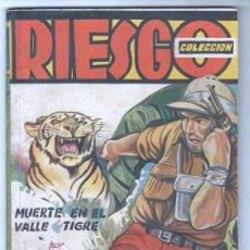 Cómics: COLECCION RIESGO SERIE SAFARI Nº 2 - REGINAL CAMPBELL - MUERTE EN EL VALLE DEL TIGRE - AÑOS 40. Lote 114994734