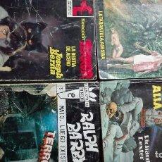 Cómics: LOTE CUATRO NOVELAS DE TERROR AÑOS 80. Lote 66967474