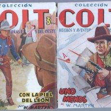 Cómics: COLECCION COLT NºS 6 Y 14 EDI. CIES 1948 - DIBUJOS BORNÉ - MUY NUEVOS. Lote 67697497