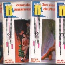 Cómics: TIC-TAC 13 COMPLETA 1 AL 4 - EUREDIT 1969 - ALEXIS BARCLAY. Lote 67988617