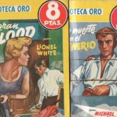 Comics : BIBLIOTECA ORO NºS - 336 Y 337 - LIONEL WHITE - MICHAEL GILBERT - . Lote 68692581