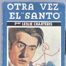Cómics: LA NOVELA AZUL Nº 11 EDITORIAL JUVENTUD 1935 -LESLIE CHARTERIS - OTRA VEZ EL SANTO. Lote 68949521