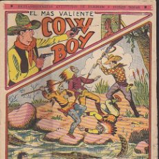 Comics: NOVELA FOLLETIN EL MAS VALIENTE COW BOY Nº 6. Lote 102669420