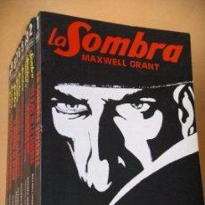 Cómics: LA SOMBRA, COLECCIÓN COMPLETA, ED. ATE CATE, AÑO 1981, MAXWELL GRANT, PULP ERCOM, (NO MOLINO) Z C3. Lote 82852382
