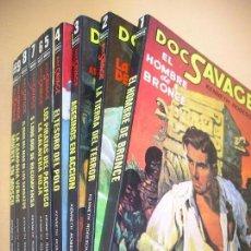 Cómics: DOC SAVAGE, COLECCIÓN COMPLETA, ED. ATE CATE AÑO 1981, KENNETH ROBESON, PULP ERCOM, (NO MOLINO) Z C3. Lote 82852370