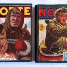 Cómics: NOVELAS DEL NORTE. 2 TOMOS CON LOS NÚMEROS 1, 2, 3, 4, 9, 10, 11, Y 12. EDICIONES CLIPER 1942. Lote 69696609