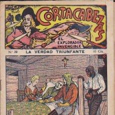 Cómics: NOVELA FOLLETIN CORTACABEZAS EL EXPLORADOR INVENCIBLE Nº 32. Lote 70136449