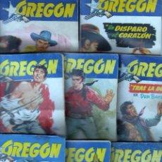 Cómics: COLECCIÓN OREGON , - FREIXA EDITOR 1958 - LOTE NºS - 4,10,11,12,14,16,18,20,27. Lote 70326505