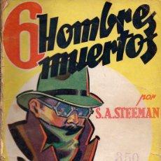 Cómics: STEEMAN : 6 HOMBRES MUERTOS - LA NOVELA AVENTURA 1938. Lote 72162075