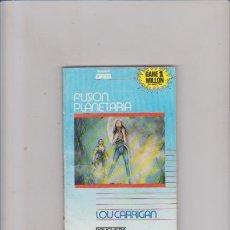 Comics : LOU CARRIGAN - FUSION PLANETARIA - Nº 745 - EDITORIAL BRUGUERA 1985. Lote 72642319