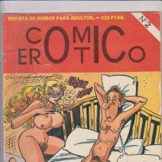 Cómics: COMIC EROTICO - Nº 2 - IRU EDITORIAL - COMIC EROTICO ADULTOS. Lote 72847419