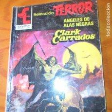 Cómics: ANGELES DE ALAS NEGRAS - CLARK CARRADOS- SELECCION TERROR Nº 505 - BOLSILIBROS PULP BRUGUERA -. Lote 73663547