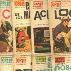 Cómics: OESTE ILUSTRADO - LOTE DE 13 NºS - SE VENDEN SUELTAS, 2,3,4,12,13,17,18,20,23,24,25,27,28 TORAY 1969. Lote 77547917