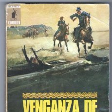 Cómics: BIBLIOTECA ORO OESTE Nº 56 - KENNETH ULYATT - VENGANZA DE NUBE ROJA - 1972 MOLINO. Lote 293560568