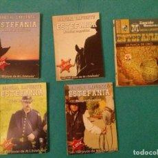 Cómics: LOTE DE CINCO NOVELAS DEL OESTE M.L.ESTEFANIA.....EXCELENTE ESTADO__TITULOS VER FOTOS.. Lote 78090429