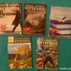 Cómics: LOTE DE CINCO NOVELAS DEL OESTE M.L.ESTEFANIA.....EXCELENTE ESTADO__TITULOS VER FOTOS.. Lote 78090457