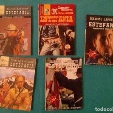 Cómics: LOTE DE CINCO NOVELAS DEL OESTE M.L.ESTEFANIA.....EXCELENTE ESTADO__TITULOS VER FOTOS.. Lote 78090493