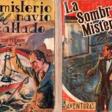 Cómics: AVENTURAS POLICIACAS 2 NºS - 61 Y 45 - MARISAL AÑO 1941 LA SOMBRA MISTERIOSA, EL MISTERIO DEL NAVÍO. Lote 83685212