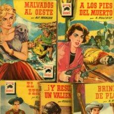 Cómics: COLECCION BISONTE - LOTE -456,489,526,601,624 -ROMY SCHNEIDER,BRIGITTE BARDOT,JANE WYMAN,MARTHA HYER. Lote 84134512