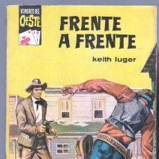 Cómics: HOMBRES DEL OESTE Nº 146 - KEITH LUGER - 1962 BRUGUERA - JAMES DEAN FOTO - . Lote 86987964