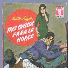 Cómics: BUFALO Nº 358 - KEITH LUGER - 1961 BRUGUERA - MARLA ENGLISH FOTO - TRES CUELLOS PARA LA HORCA. Lote 87027896