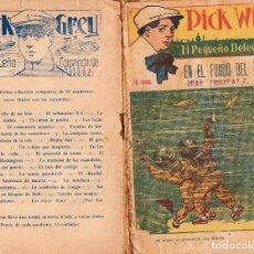 Cómics: PICK WILL. EL PEQUEÑO DETECTIVE. AÑO 1916. CUADERNO 26: EN EL FONDO DEL TÁMESIS. Lote 87059532
