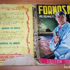 Cómics: COLECCIÓN COMANDOS. AUTOR: JOE BENNETT. EDITORIAL VALENCIANA. NÚMERO 159: FORMOSA. Lote 87577384