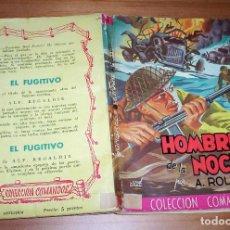 Cómics: COLECCIÓN COMANDOS. AUTOR: A. ROLCEST. NÚMERO 167: HOMBRES DE LA NOCHE. EJEMPLAR EN BUEN ESTADO. Lote 87581256