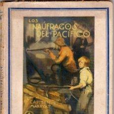 Cómics: COLECCIÓN AVENTURA. NÚMERO 47: LOS NAÚFRAGOS DEL PACÍFICO POR EL CAPITÁN MARRYAT. CUARTO VOLÚMEN. Lote 87629672