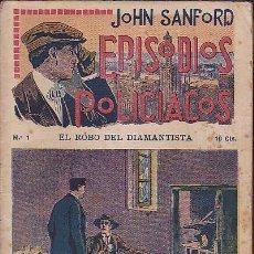 Cómics: LOTE DE 31 FOLLETINES JOHN SANFORD EPISODIOS POLICIACOS FALTA Nº 32. Lote 88958872