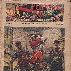 Cómics: LOTE DE 45 EJEMPLARES MONTBARS EL PIRATA EL PABELLON DE LA MUERTE DEL 1 AL 45 . Lote 88959308
