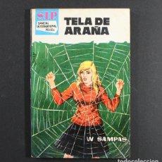 Cómics: NOVELA S.I.P. ESPACIAL INTERNATIONAL POLICE, TELA DE ARAÑA, W.SAMPAS, TORAY 1960 SIP. Lote 89840900