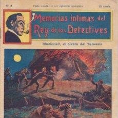 Cómics: MEMORIAS INTIMAS DEL REY DE LOS DETECTIVES. Nº 3. EDITORIAL ATLANTE 191?.. Lote 90837180