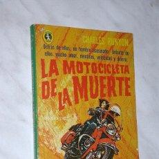 Cómics: LA MOTOCICLETA DE LA MUERTE. CHARLES RUNYON. COL. JAGUAR Nº 68. EDITORIAL DIANA, MÉXICO 1971.+++. Lote 93117445