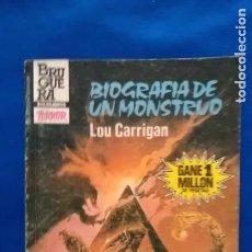 Cómics: BIOGRAFIA DE UN MONSTRUO - LOU CARRIGAN - SELECCIONTERROR 607. Lote 93858915