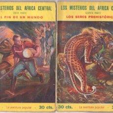 Cómics: LOS MISTARIOS DEL AFRICA CENTRAL - LA AVENTURA POPULAR - 2 ÚLTIMOS NºS- 1929 JOAQUIN GIL EDITOR. Lote 94467414
