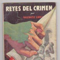 Cómics: LA SOMBRA. LOS REYES DEL CRIMEN. HOMBRES AUDACES Nº 87. MOLINO 1945.. Lote 95763727