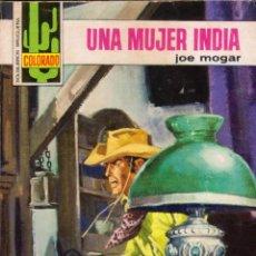Cómics: COLECCIÓN COLORADO. AUTOR: JOE MOGAR. AÑO 1977. NÚMERO 1006: UNA MUJER INDIA. PERFECTO ESTADO. Lote 96844743