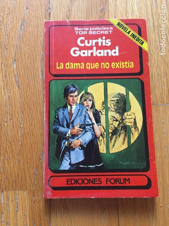 LA DAMA QUE NO EXISTIA, CURTIS GARLAND, (Tebeos, Comics y Pulp - Pulp)