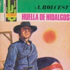 Cómics: COLECCIÓN COLORADO. AUTOR: A. ROLCEST. AÑO 1978. NÚMERO 1105: HUELLA DE HIDALGOS. PERFECTO ESTADO. Lote 96928887