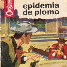 Comics: COLECCIÓN HÉROES DEL OESTE. AUTOR: M.L. ESTEFANÍA. NÚMERO 202: EPIDEMIA DE PLOMO. Lote 96953399