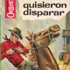Comics: COLECCIÓN HÉROES DEL OESTE. AUTOR: M.L. ESTEFANÍA. NÚMERO 340: QUISIERON DISPARAR. PERFECTO ESTADO. Lote 96966607