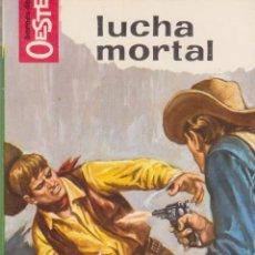 Comics: COLECCIÓN HÉROES DEL OESTE. AUTOR: M.L. ESTEFANÍA. NÚMERO 391: LUCHA MORTAL. PERFECTO ESTADO. Lote 97028819
