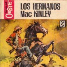 Comics: COLECCIÓN HÉROES DEL OESTE. AUTOR: M.L. ESTEFANÍA. Nº 501: LOS HERMANOS MAC KINLEY. BUEN ESTADO. Lote 97106339