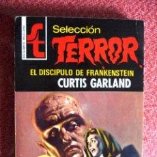 Cómics: SELECCIÓN TERROR Nº 10. EL DISCÍPULO DE FRANKENSTEIN. CURTIS GARLAND. BRUGUERA. . Lote 97170475