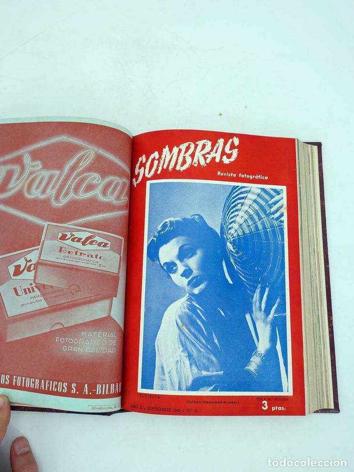 SOMBRAS. REVISTA FOTOGRÁFICA NºS 13 A 24 ENCUADERNADOS EN UN TOMO. BUEN ESTADO, 1945 (Tebeos, Comics y Pulp - Pulp)