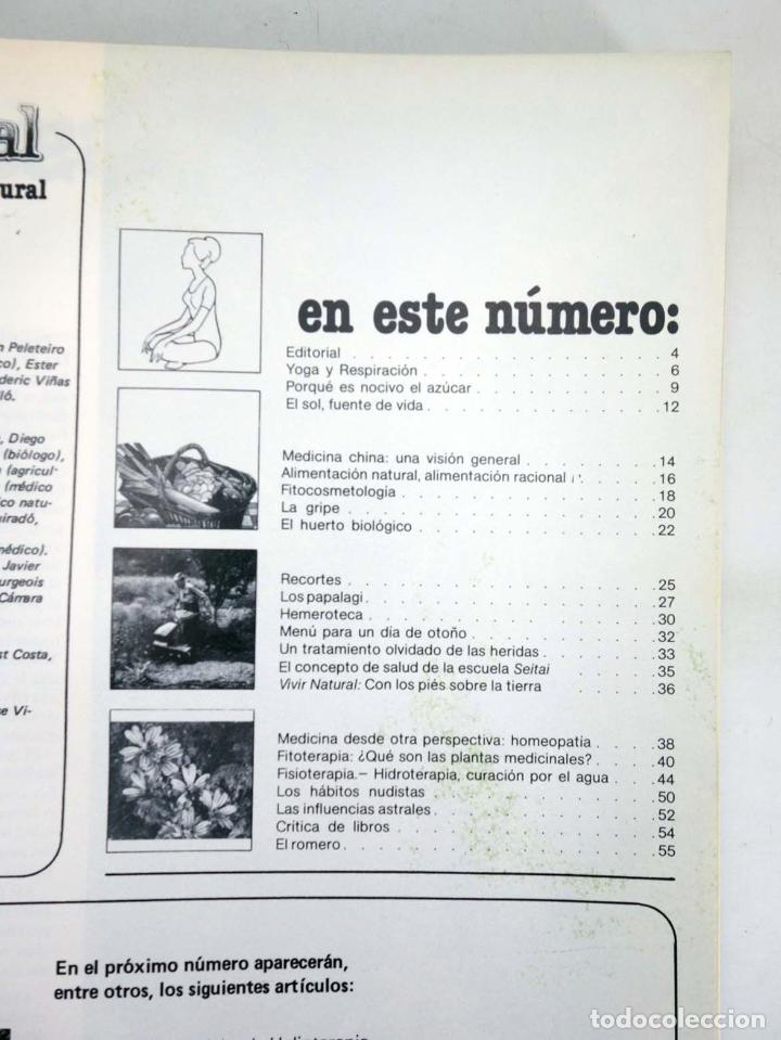 Cómics: REVISTA INTEGRAL. ECOLOGÍA SALUD Y VIDA NATURAL LOTE 90 DE LOS PRIMEROS 100 NÚMEROS EN 13 TOMOS,A F - Foto 4 - 97781726