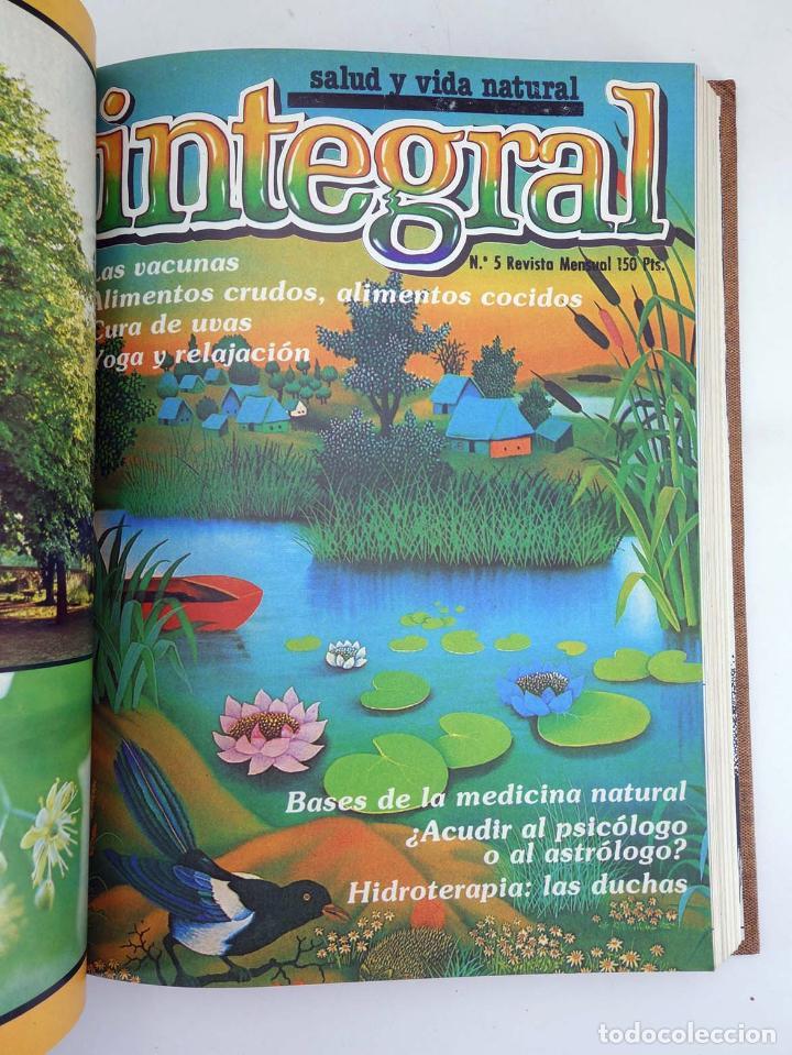 Cómics: REVISTA INTEGRAL. ECOLOGÍA SALUD Y VIDA NATURAL LOTE 90 DE LOS PRIMEROS 100 NÚMEROS EN 13 TOMOS,A F - Foto 7 - 97781726